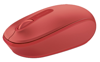 Мышь Microsoft Wireless Mobile 1850 Flame Red V2