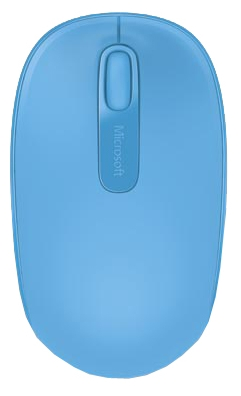 Мышь Microsoft Wireless Mobile 1850 Wool Blue
