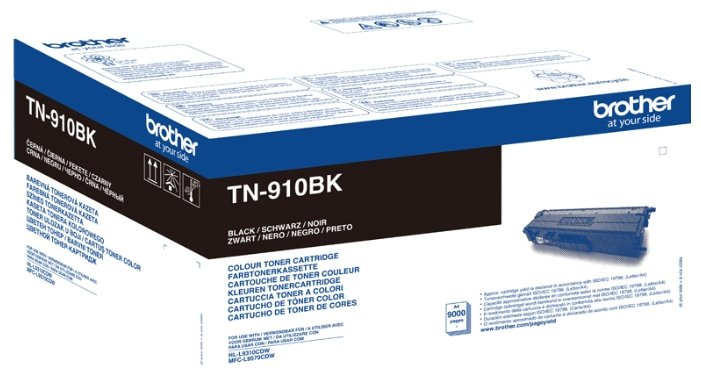 Картридж Brother TN-910BK (9000 стр.) черный для MFC-L9570CDW (TN910BK)