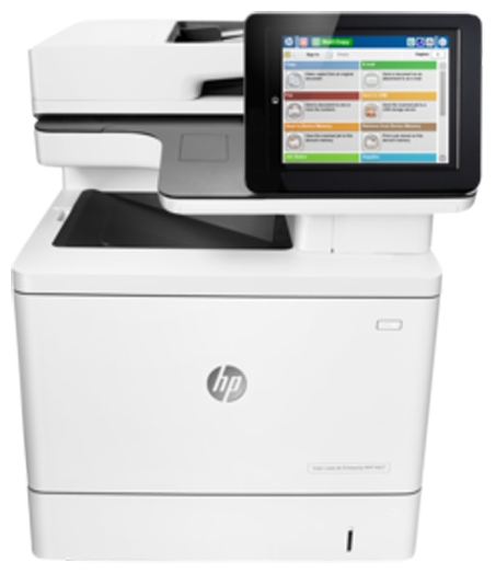 МФУ лазерное HP LaserJet Enterprise M577f