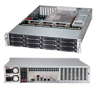 корпус 2U SuperMicro CSE-826BE16-R920LPB