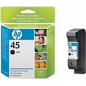Картридж Hewlett Packard 45 Black для DJ 1120c/1125c/1180c/1220c/1220c/ps/1280/